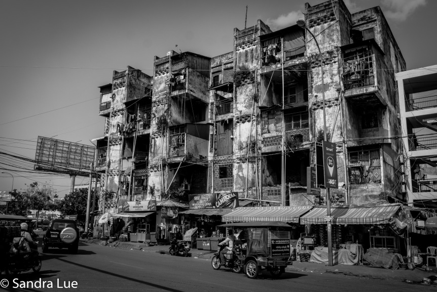 The White Buildings of Phnom Penh