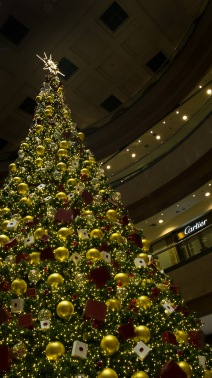 Takishimaya Christmas tree