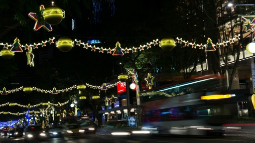 Orchard Rd on level