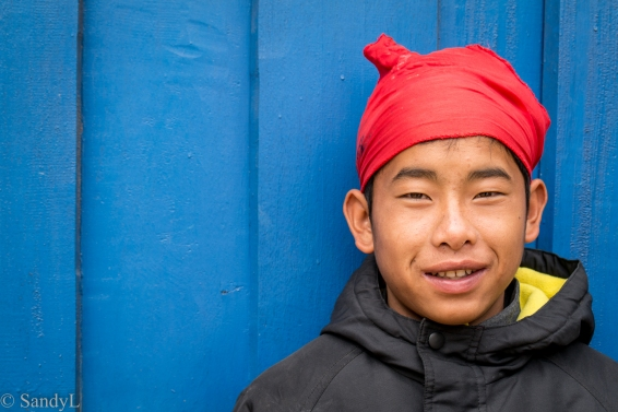 Khmu boy in Laos