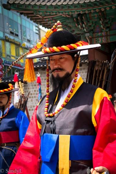 Deoksu Palace guard