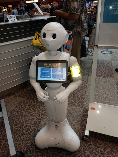 Japanese Robotics, the latest in customer service