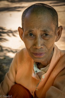 Buddhist Nun (Bagan)