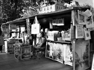 Les bouquinistes de la Seine