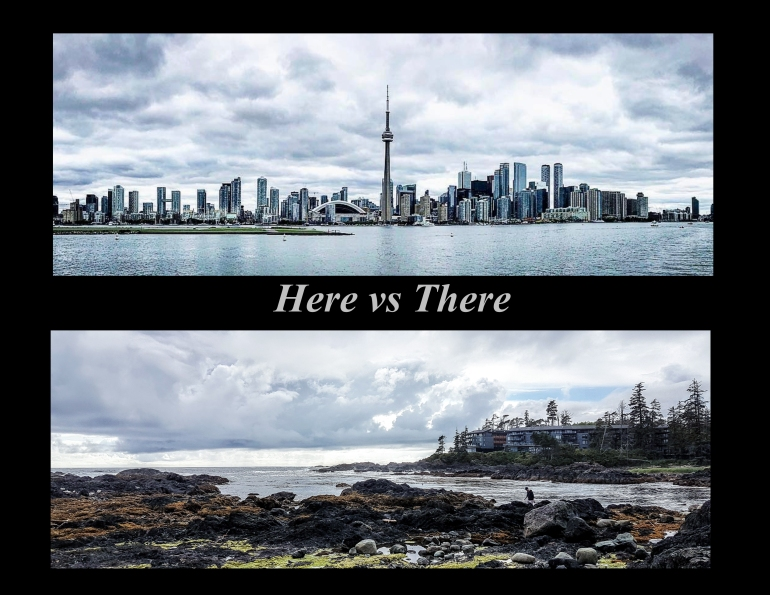 Here vs There