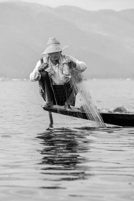 Inle Fisherman