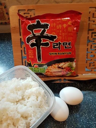Instant Ramen Rice